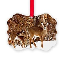 Deer - Doe and Fawn Ornament