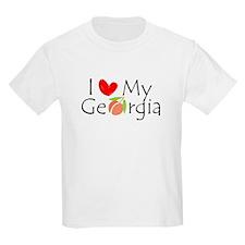 Love my Georgia Peach T-Shirt