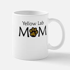 Yellow Lab Mom Mugs
