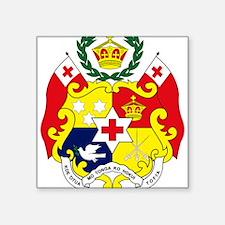 Tonga Coat of Arms Rectangle Sticker