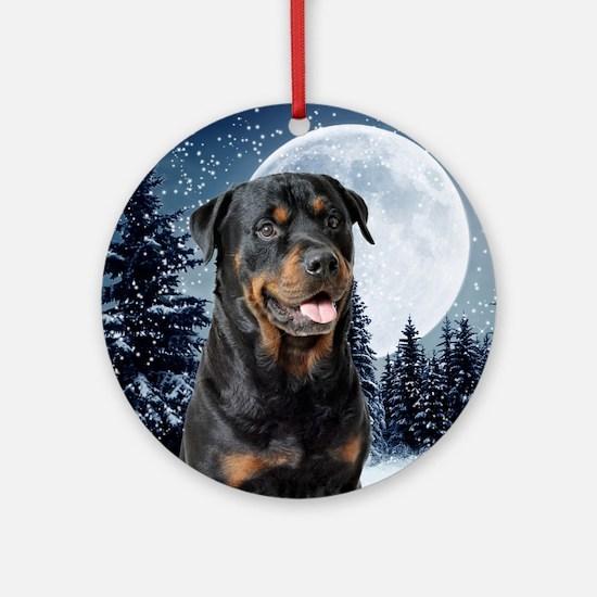 Rottweiler Ornament (Round)