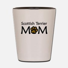 Scottish Terrier Mom Shot Glass