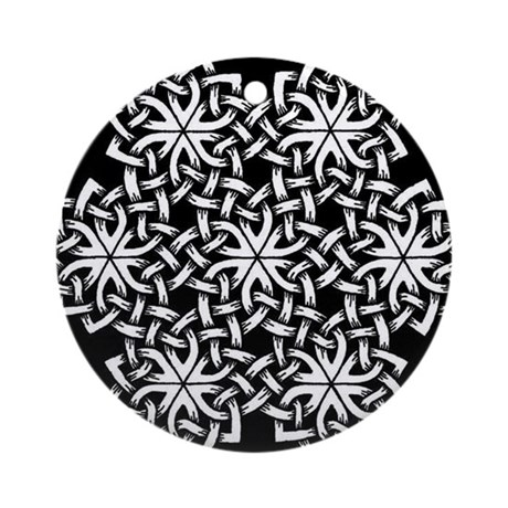Seven Spirals Celtic Knot - A Ornament (Round)