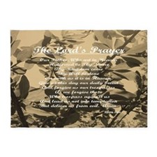 The Lords Prayer Vintage 5'x7'Area Rug