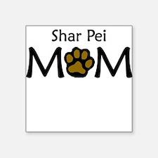 Shar Pei Mom Sticker
