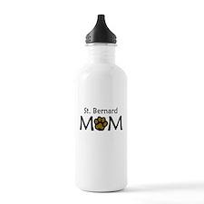 St. Bernard Mom Water Bottle