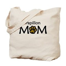 Papillon Mom Tote Bag