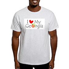 I love my Georgia peach T-Shirt