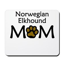 Norwegian Elkhound Mom Mousepad