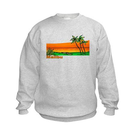 Malibu, California Kids Sweatshirt