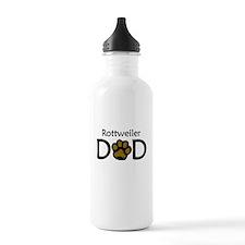 Rottweiler Dad Water Bottle