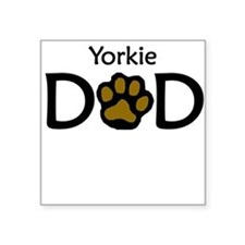 Yorkie Dad Sticker