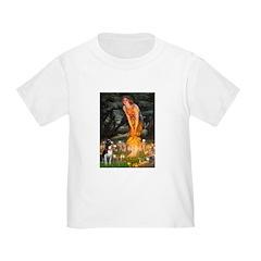 Fairies & Boston Terrier Toddler T-Shirt
