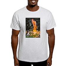 Fairies & Boston Terrier T-Shirt