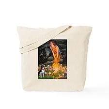 Fairies & Boston Terrier Tote Bag