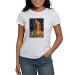 Fairies & Boston Terrier Women's T-Shirt