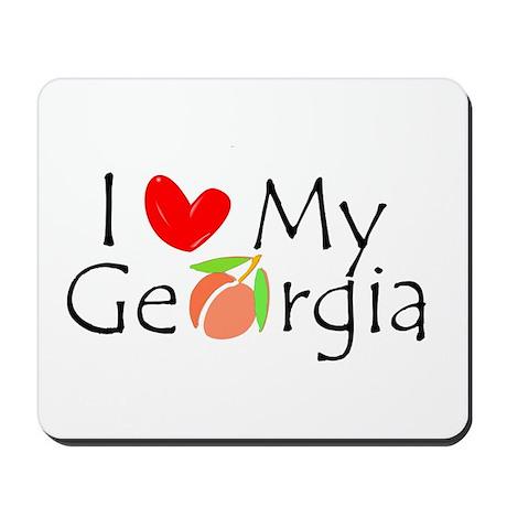 Love my Georgia Peach Mousepad