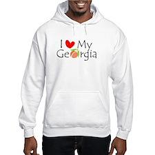 Love my Georgia Peach Hoodie