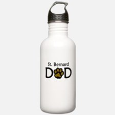 St. Bernard Dad Water Bottle