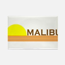 Malibu, California Rectangle Magnet
