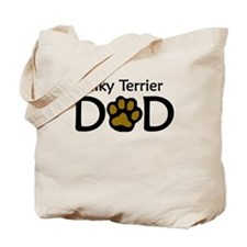 Silky Terrier Dad Tote Bag