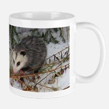 Snow Possum Mugs