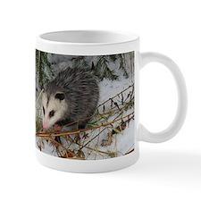 Snow Possum Mugs