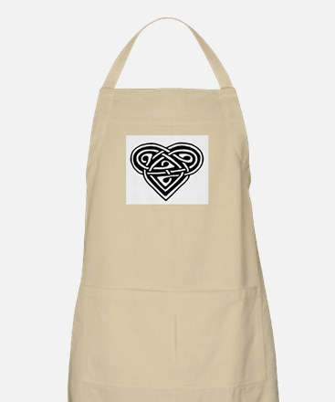 Celtic heart BBQ Apron