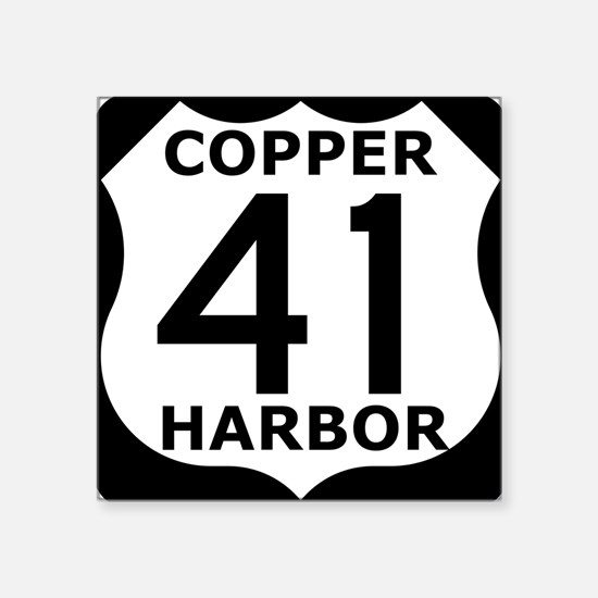 Copper Harbor 41 Sticker