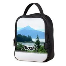 Alaska Scenic View Neoprene Lunch Bag