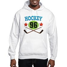 Hockey Player Number 96 Hoodie