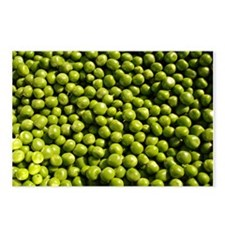 peas, vegetable Postcards (Package of 8)