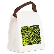 peas, vegetable Canvas Lunch Bag