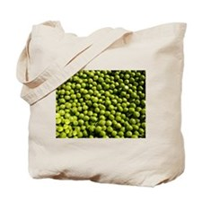 peas, vegetable Tote Bag