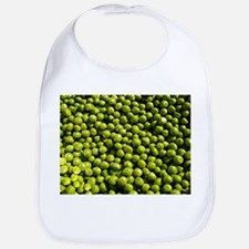 peas, vegetable Bib