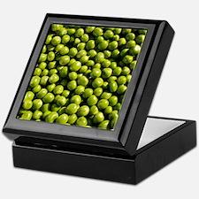 peas, vegetable, Keepsake Box
