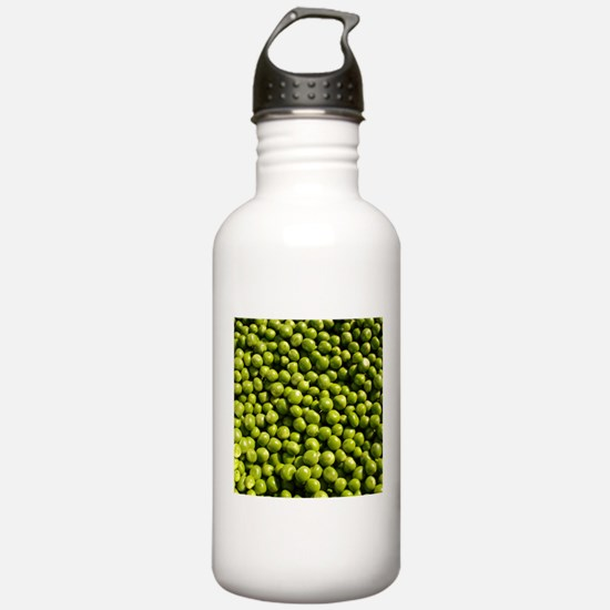 peas, vegetable, Water Bottle