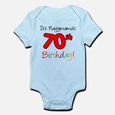 Nagymama 70th Birthday Body Suit