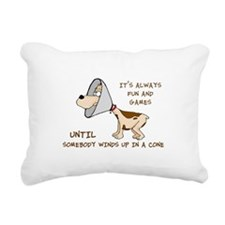 DOG CONE Rectangular Canvas Pillow