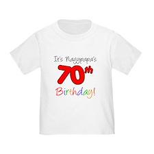 Nagypapa 70th Birthday T-Shirt