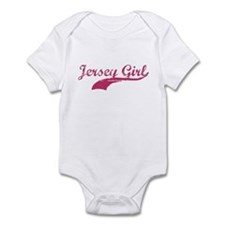 JERSEY GIRL T-SHIRT NEW JERSE Infant Bodysuit