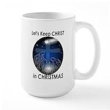 Christ in Christmas Mug