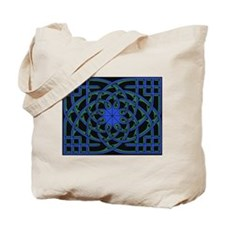 celtic weave design by Alan M Tote Bag