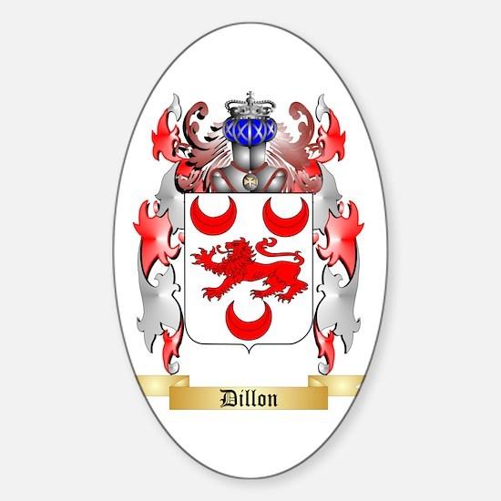 Dillon Sticker (Oval)