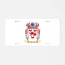 Dillon Aluminum License Plate