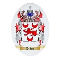 Dillon Ornament (Oval)