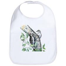 Downy Woodpecker Bib