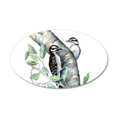 Downy Woodpecker Wall Decal