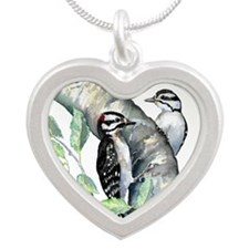 Downy Woodpecker Necklaces