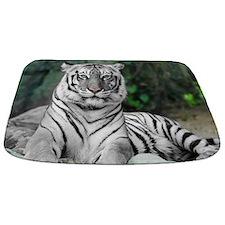White Tiger Bathmat